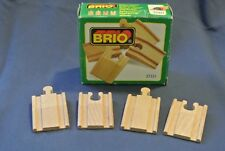 Genuine Brio Sweden Wooden Train Railway 33331 Set of 4 Ramps w/ Box