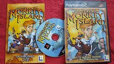 ESCAPE FROM MONKEY ISLAND ORIGINAL BLACK LABEL SONY PLAYSTATION PS2 PAL