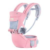 3en1 Amovible Bébé Porte-bébé Sac à dos ergonomique respirant et enveloppant