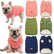 Winter Warm Pet Dog Jacket Vest Clothes Puppy Cat Coat Costume French Bulldog