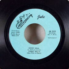 """RARE Tommy Wills Sweet Soul / Together Again 7"""" 45 Juke EX!!!"""