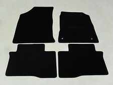 Ssangyong Tivoli 2015-on Fully Tailored Deluxe Car Mats in Black.