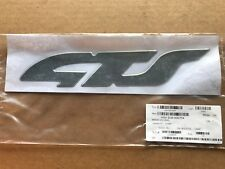 HSV VX GTS SIDE SKIRT ' GTS ' DRIVER RIGHT SIDE BADGE DECAL GENUINE GM NEW