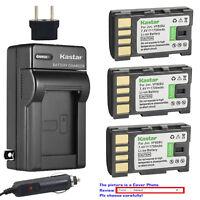 Kastar Battery AC Charger for JVC BN-VF808 BN-VF808U & JVC GZ-HD10 Camcorder
