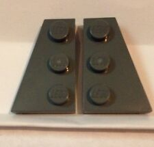 LEGO STAR WARS - dark STONE GREY - right & left angle plate - Part: 4210869