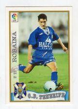 figurina card fichas - CARD LIGA 97/98 1997  - N. 181 C.D. TENERIFE ROBAINA