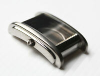 Uhrengehäuse ETA2671 Rechteckig Edelstahl Silber Formgehäuse Tonneau Case Square