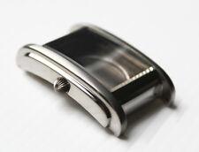 Uhrengehäuse ETA 2671 rechteckig Edelstahl silber POLJOT Watch case square silve
