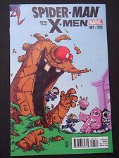 Spider-man & the X-Men #1 Young Variant 2015 Marvel Comics High Grade