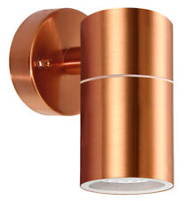 IP65 Single Copper Wall Light Stainless Steel Outdoor Exterior Interior ZLC098C