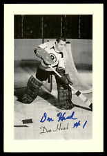 Don Head Autographed Signed 1944-63 Beehive Group 2 4.5x6.5 Photo Bruins 176787