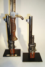 Support display stand for Mauser G98  bayonet