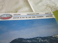 Alpenbahnen Südalpen K 21 Tarentaise Linie Chambéry Moûtiers Isere Tal