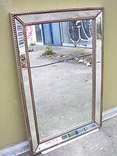 Wall Mirror Faux- Antique Aruba Gold Bead All Beville Design MDF $199.90
