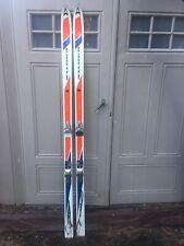 Vintage Kastle CPM BOA Skis 195cm Salomon 444 Bindings With Kastle CPM Skis Bag