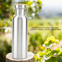 Stainless Steel Water Drink Bottles Cup Outdoor Travel Sport Camping Cycling