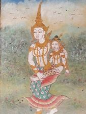 Antique Painting Traditional, Thailand