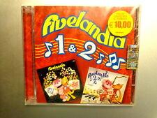 FIVELANDIA 1 & 2  -   CRISTINA D'AVENA  -  2 CD 2006  NUOVO E SIGILLATO