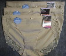 Bali Lace Desire Hipster Pantie 3 Pack Style DFCD63 Size Medium 6 NWT