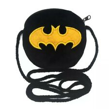 BATMAN BAG GIRLS BOYS COIN PLUSH FLUFFY PURSE WALLET GIFT PARTY BAG FILLERS