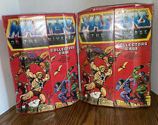 Vintage He-Man Masters of the Universe Figure Collectors Case MOTU 1984 w/ Trays