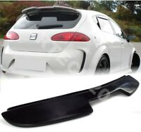Fits Seat Leon MK2 2005-2009 (Pre Face Lift) Rear Roof Spoiler, tuning