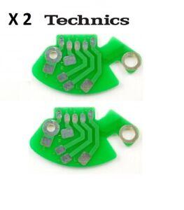TECHNICS SL 1200 1210 RCA Phono PCB X 2 MK2/MK4 SFDP122-22