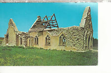 Fort Randall Chapel near Lake Andes & Fort Randall Dam Nd Chrome Postcard 2267