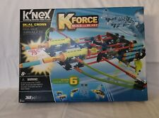 New In Box K'Nex K-Force Build and Blast Dual Crossbow Building Set