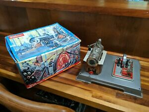 Wilesco Miniature D12 Model Toy Steam Engine made in Germany Dampfmaschine