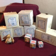 Collectible Cherished Teddies Lot of 7.All New in Boxes!