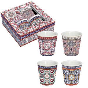 Orientalische Espresso-Tassen 4er Set Morocco / Morgenland Möbel & Accessoires