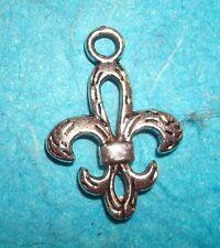 Pendant Fleur de Lys Charm New Orleans Saints Symbol French Paris CHIC France