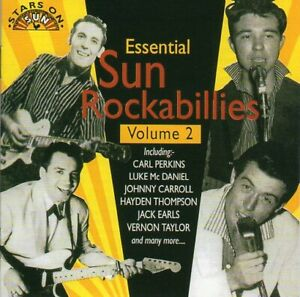 Essential Sun Rockabillies. Vol.2. CD Rockabilly. Brand New
