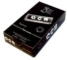 Papel de fumar OCB 25 librillos papel del liar cigarros premium natural 1 1/4 fi