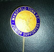 Mansfield Town junior supporters Pin Badge.