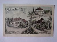 Ansichtskarte Fessenbach Gasthaus zur Linde Kriegerdenkmal farbig  (Nr.664)