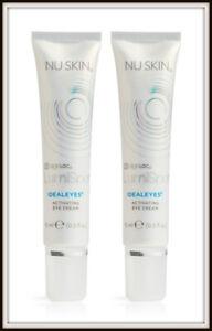 NEW! 2 x Nu Skin NuSkin ageLOC LumiSpa IdealEyes Activating Eye Cream
