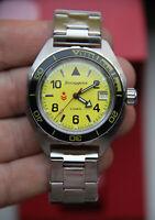 NEW Watch mechanical VOSTOK Commander К-65 Waterproof Shockproof RUSSIA №2