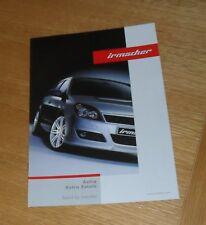 Vauxhall astra h irmscher estilo ACCESORIOS FOLLETO 2005 HATCHBACK & ESTATE