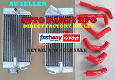 For Honda CRF450R CRF450 2002 2003 2004 02 03 04 aluminum radiator and hose