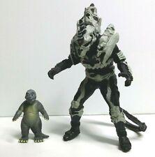 2004 BANDAI Mini Battle G MINILLA VS MONSTER X Minya Godzilla Final Wars US SELL