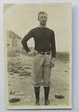 1910 COACH SCHILDMILLER Oregon State OAC football real photo postcard RPPC