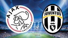 Champions League Quarter-finals 1st leg 2019 Ajax - Juventus - DVD Full Match