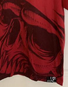 Vintage Metal Mulisha Red Big MM Helmet Men's T Shirt Size M