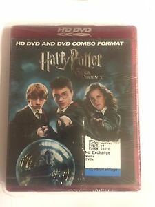 HD DVD COMBO FORMAT HARRY POTTER AND THE ORDER OF THE PHOENIX