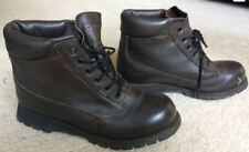Womens Dark Brown Leather GORE-TEX Rocky Boots Hiking Size 9.5 W Wide
