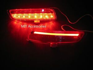 MIT Toyota Corolla Altis 2014-on LED rear bumper reflector lamp stop light