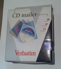 ($0 p&h) Verbatim 5 PCS Clear Square Mailer CD DVD Movie Storage Case