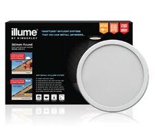 ILLUME SKYLIGHT SOLAR POWERED LED 350MM ROUND WHITE SURROUND RETRO FIT KIS1014
